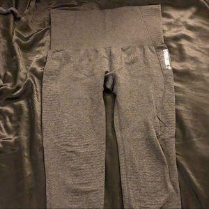 Gray Gymshark Seamless Leggings